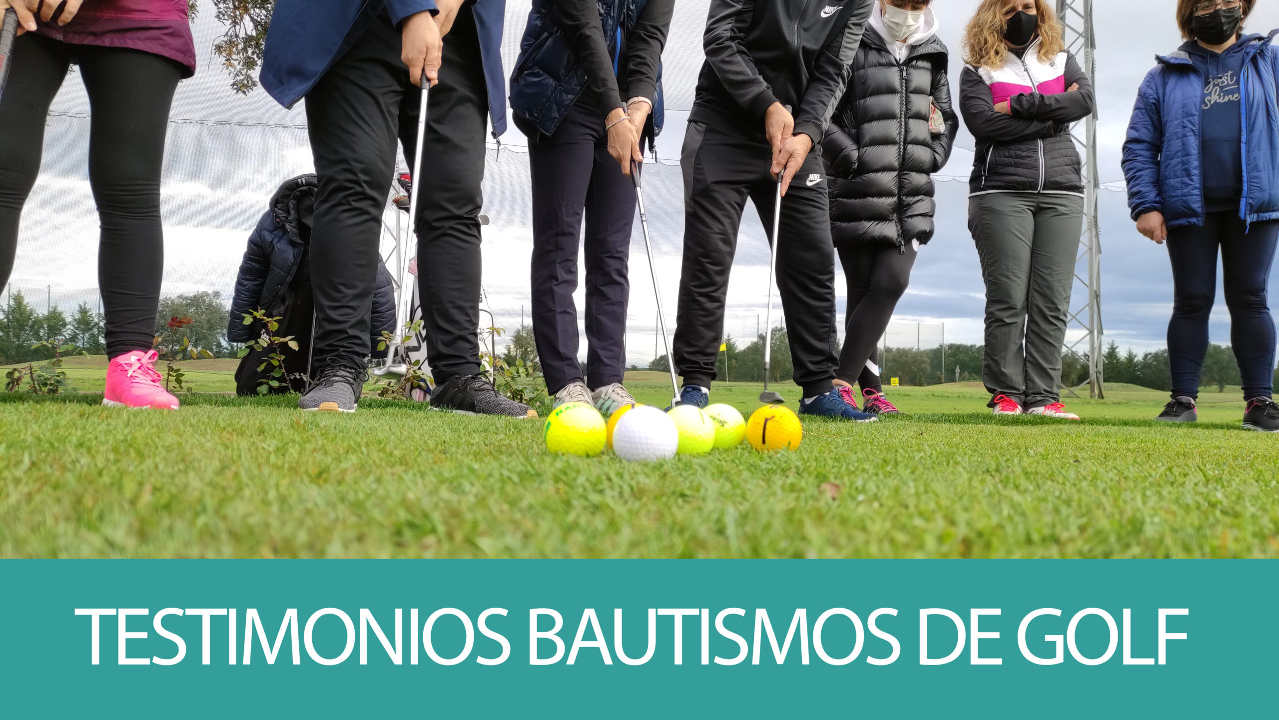 Testimonios bautismos de golf