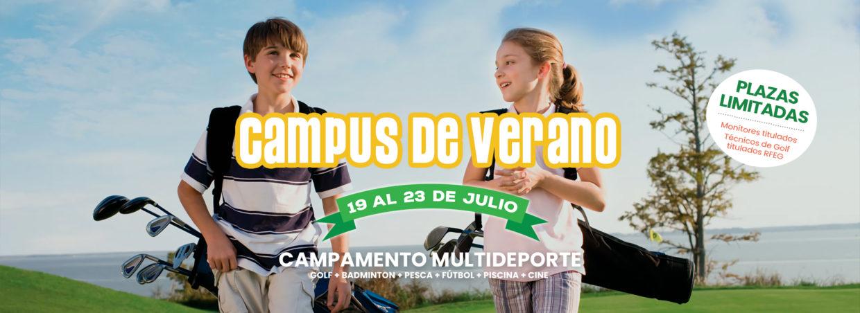 Campus de verano infantil La Valmuza Golf Salamanca
