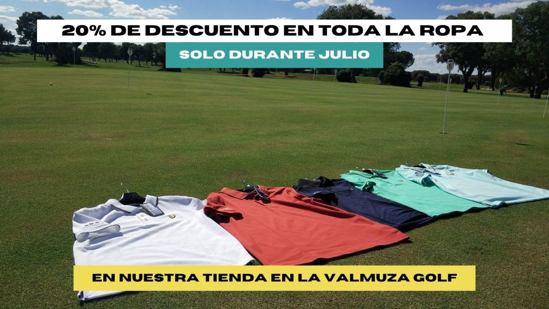 20% descuento en La Valmuza Golf Salamanca
