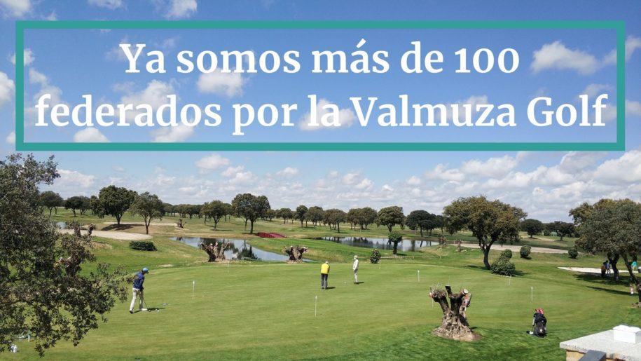 Más de 100 federados por La Valmuza Golf