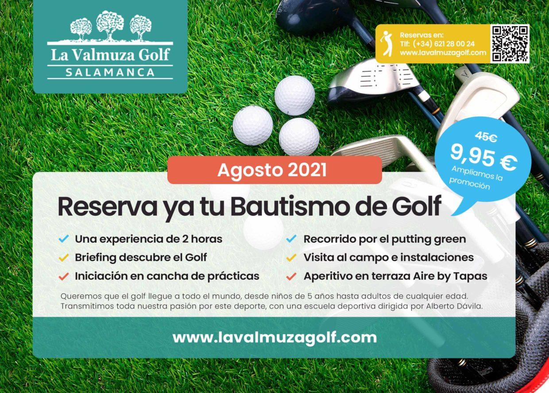 Bautismos de golf La Valmuza Salamanca
