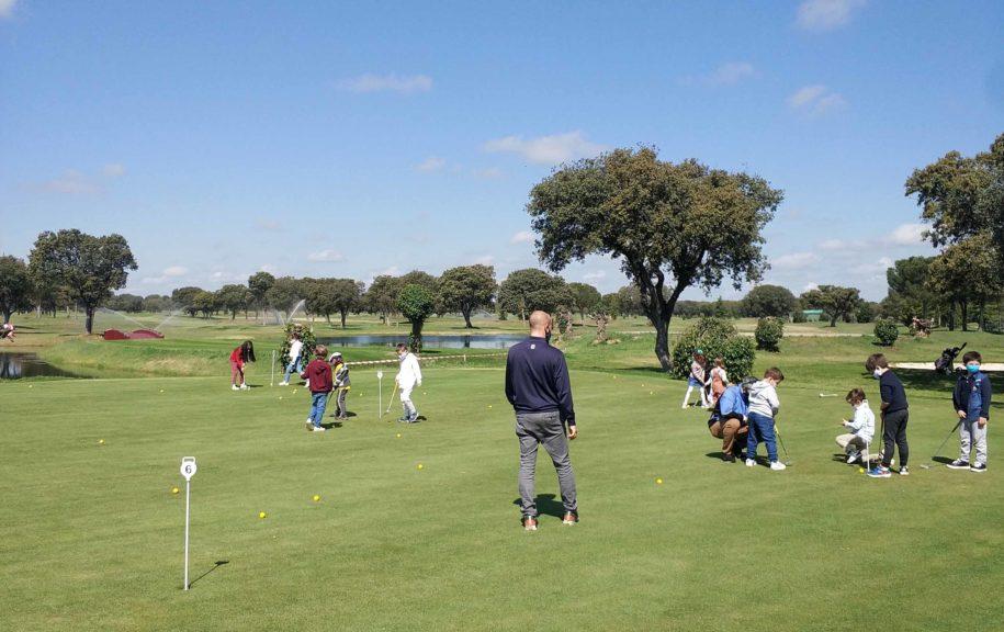 Escuela infantil de golf Salamanca
