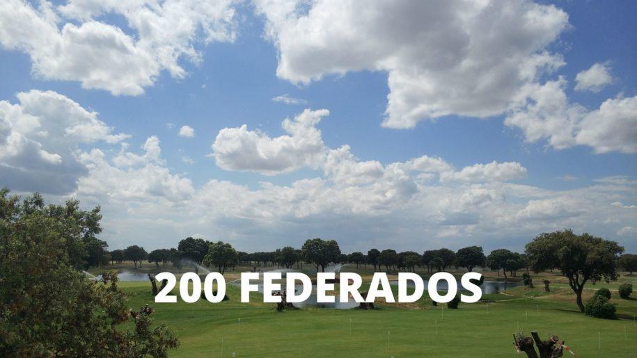 200 federados por La Valmuza Golf